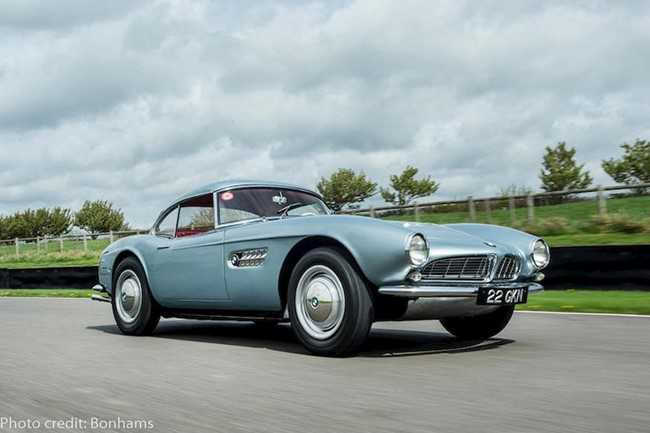 BMW 507 - photo credit: Bonhams
