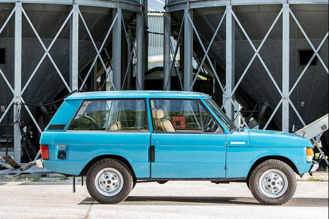 1972 Range Rover Suffix A photocreditbonhams