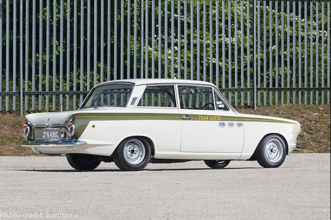 Ford Lotus Cortina MK1 photocreditbonhams