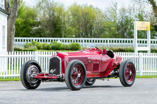 Alfa Romeo Tipo B GP photocreditBonhams